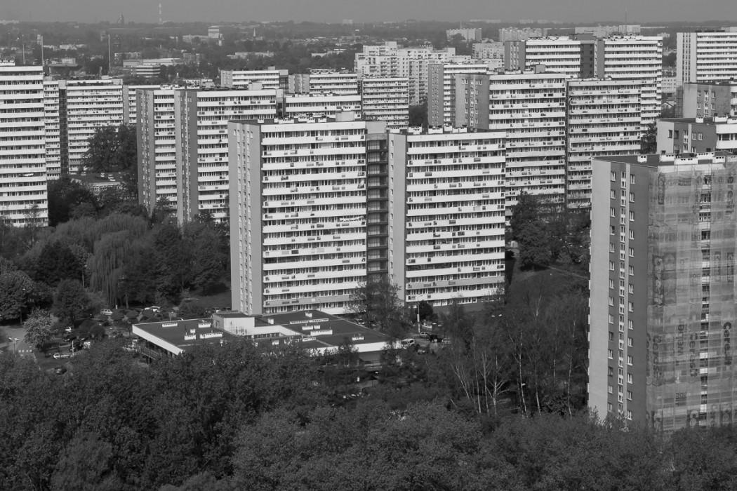 Osiedle Tysiąclecia w Katowicach - jeden z najbardziej znanych projektów Aleksandra Franty / fot. BP Tomasz Zak