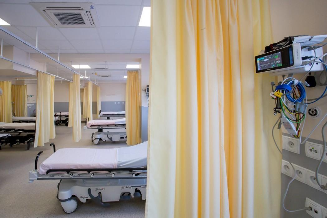 Łóżko w szpitalu / fot. arch BP Tomasz Żak