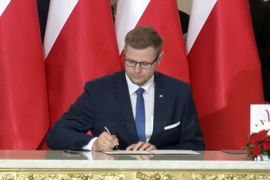 Michał Woś / fot. www.prezydent.pl