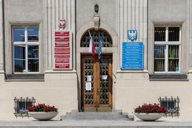 Wejście do Gmachu Sejmu Śląskiego