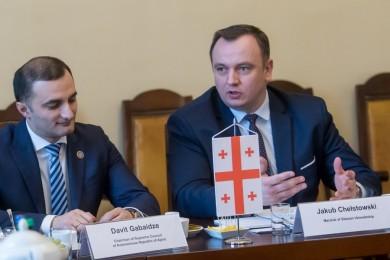 Nowe otwarcie polsko-gruzińskiej współpracy